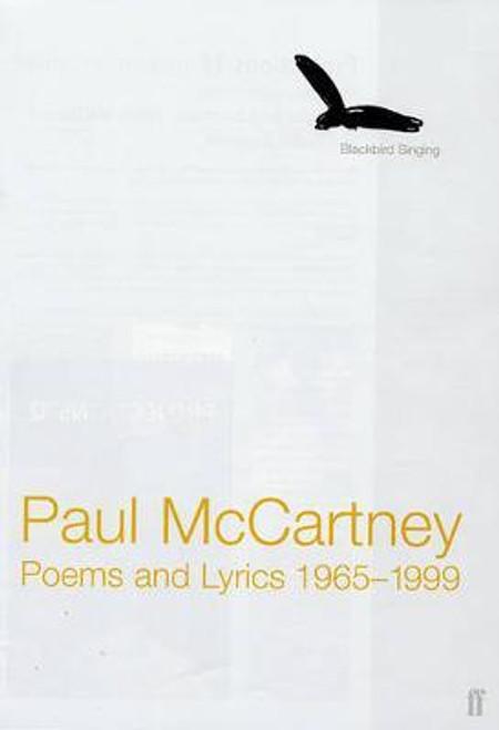 McCartney, Sir Paul / Blackbird Singing : Poems and Lyrics 1965-1999