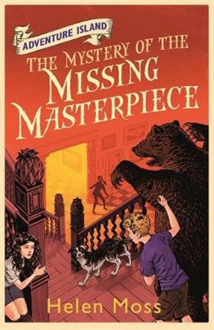 Moss, Helen / Adventure Island: The Mystery of the Missing Masterpiece