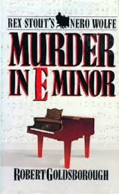 Goldsborough, Robert / Murder in E Minor