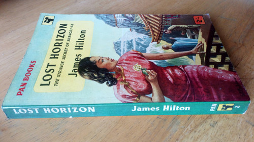 Hilton, James - Lost Horizon - The Strange Secret of Shangri-La Vintage Pan PB 1957