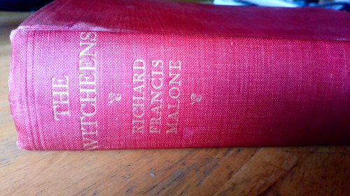 Malone, Richard Francis - The Witcheens - A Tale of Maynooth and London - Hb 1st Ed 1928 Supernatural
