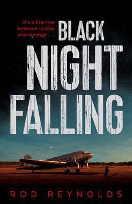 Reynolds, Rod / Black Night Falling (Large Paperback)