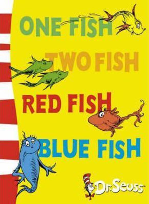 Dr. Seuss / One Fish, Two Fish, Red Fish, Blue Fish (Large Paperback)