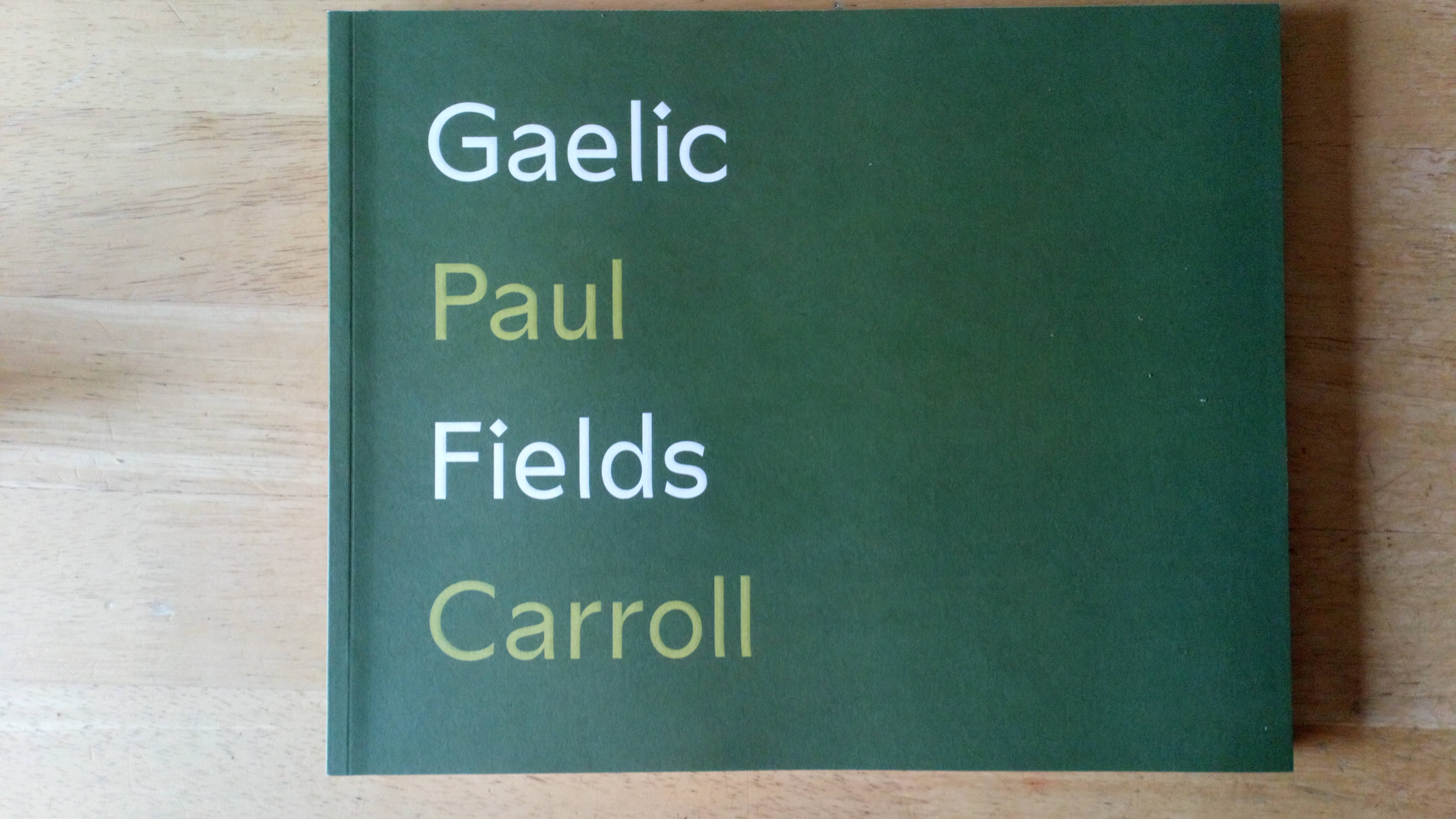 Gaelic Fields - A photographic journey through Ireland's GAA Clubs - Limited Edition Photography Book , 2016.