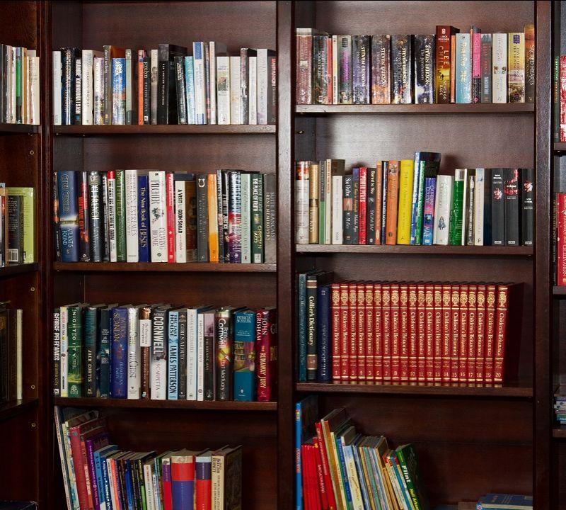 ''Books do furnish a Room....''