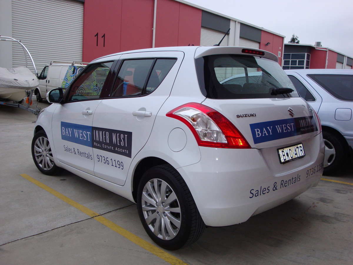 Vehicle Signs Car Basic Trixle Group Pty Ltd - Graphics for alto car