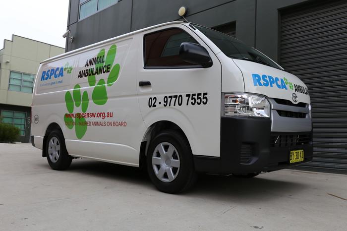RSPCA Van Signage
