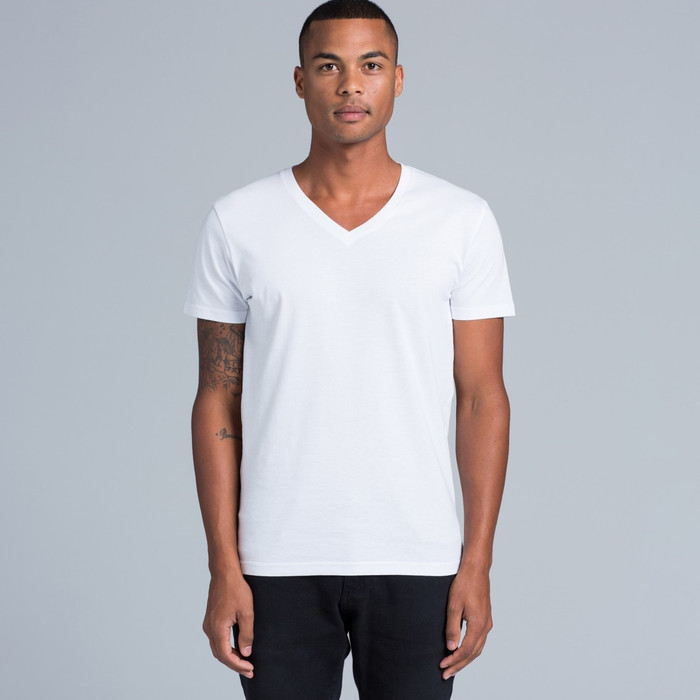 Tarmac V-Neck T-Shirt (White)