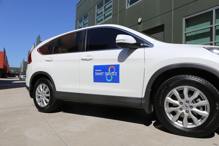 Samsung Vehicle Magnet