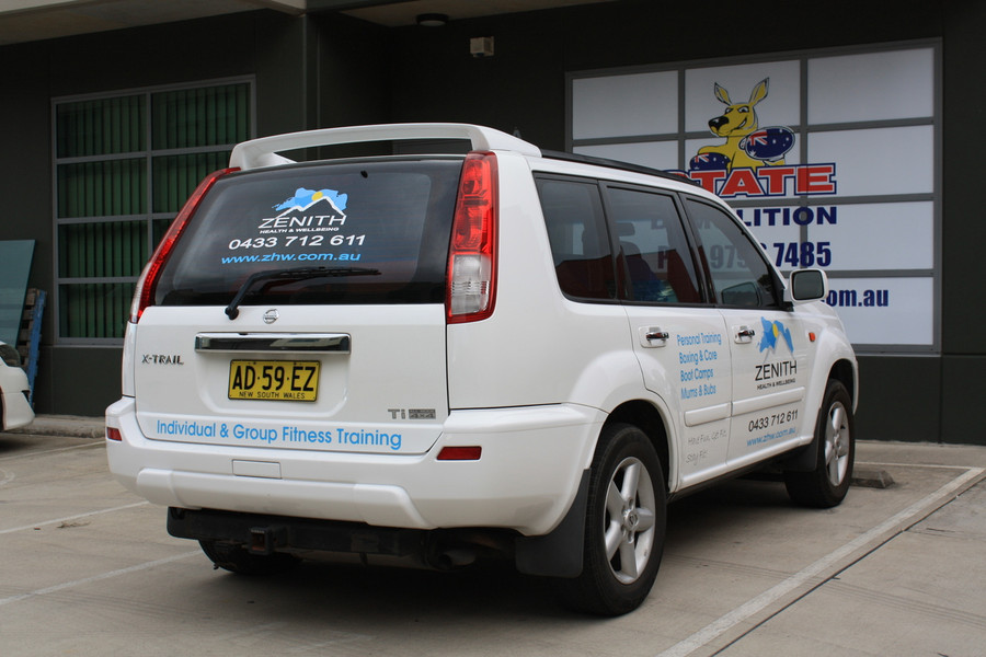 Zenith Health Vehicle Graphics