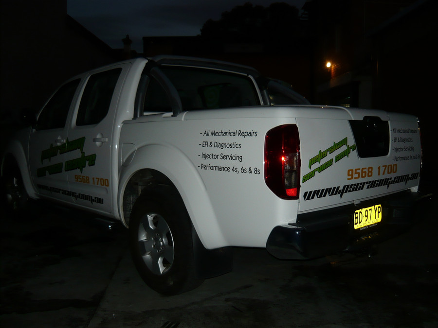 PSC Ute Signs