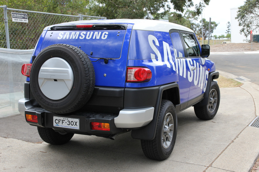 Vehicle Wrap - 4WD Wrap