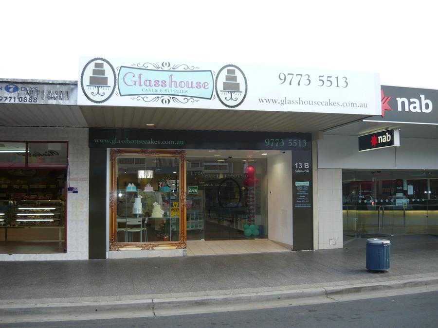 Glasshouse Cakes Clear Vinyl Adhesive Print