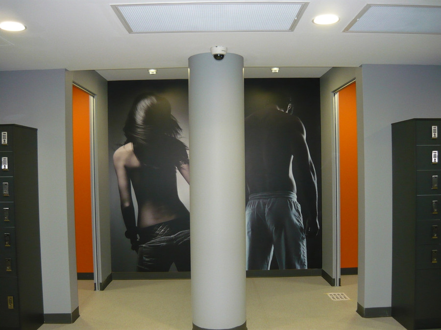 Bathroom Entry Wall Graphics