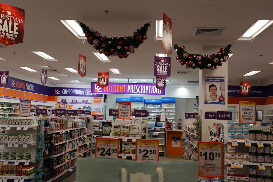 Discount Drug Store Acrylic Box