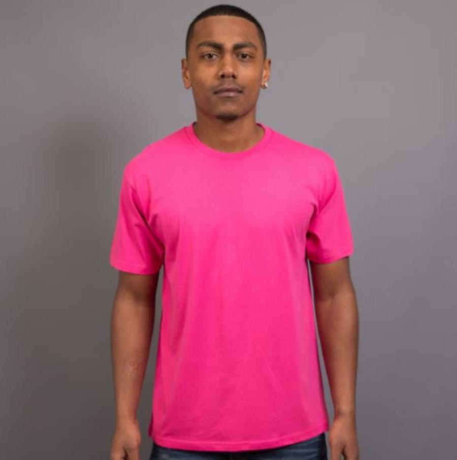 Mens Surf T-Shirt (Hot PInk)