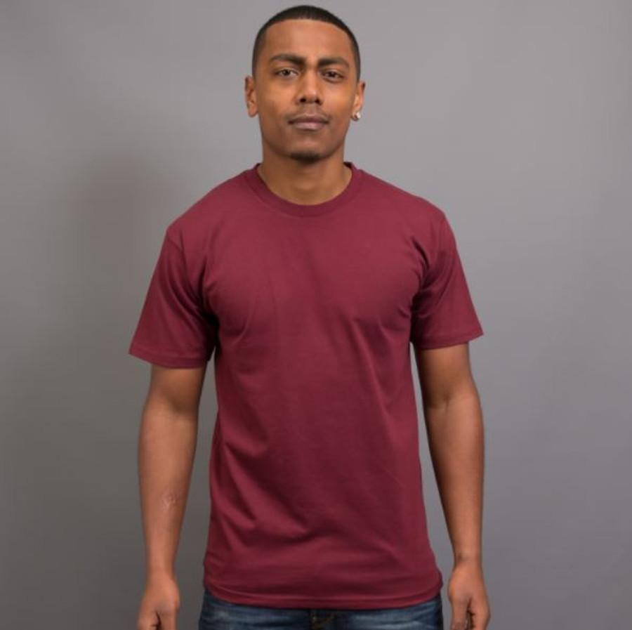 Mens Surf T-Shirt (Maroon)
