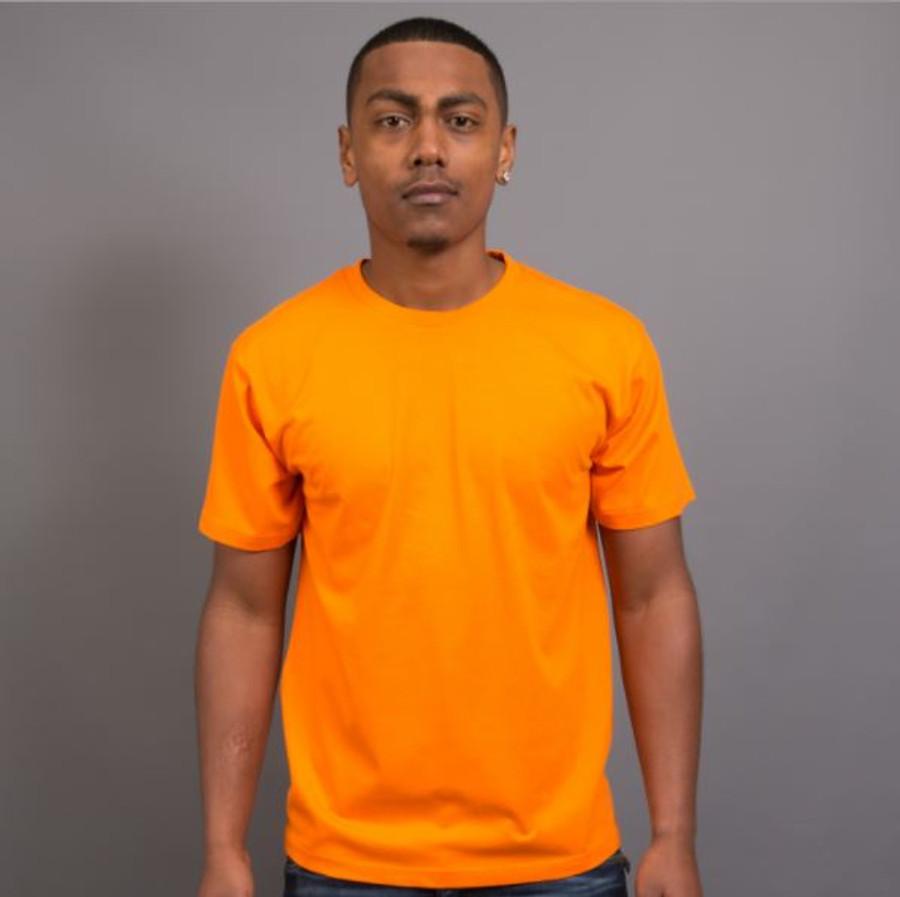 Mens Surf T-Shirt (Orange)