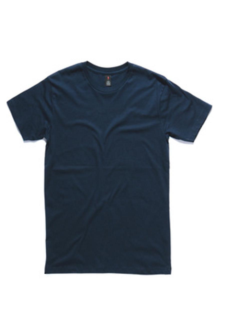 Mens Paper T-Shirt  (Navy)
