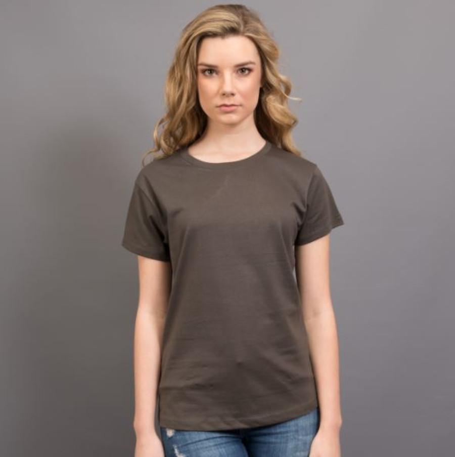 Ladies Surf T-Shirt  (Charcoal)