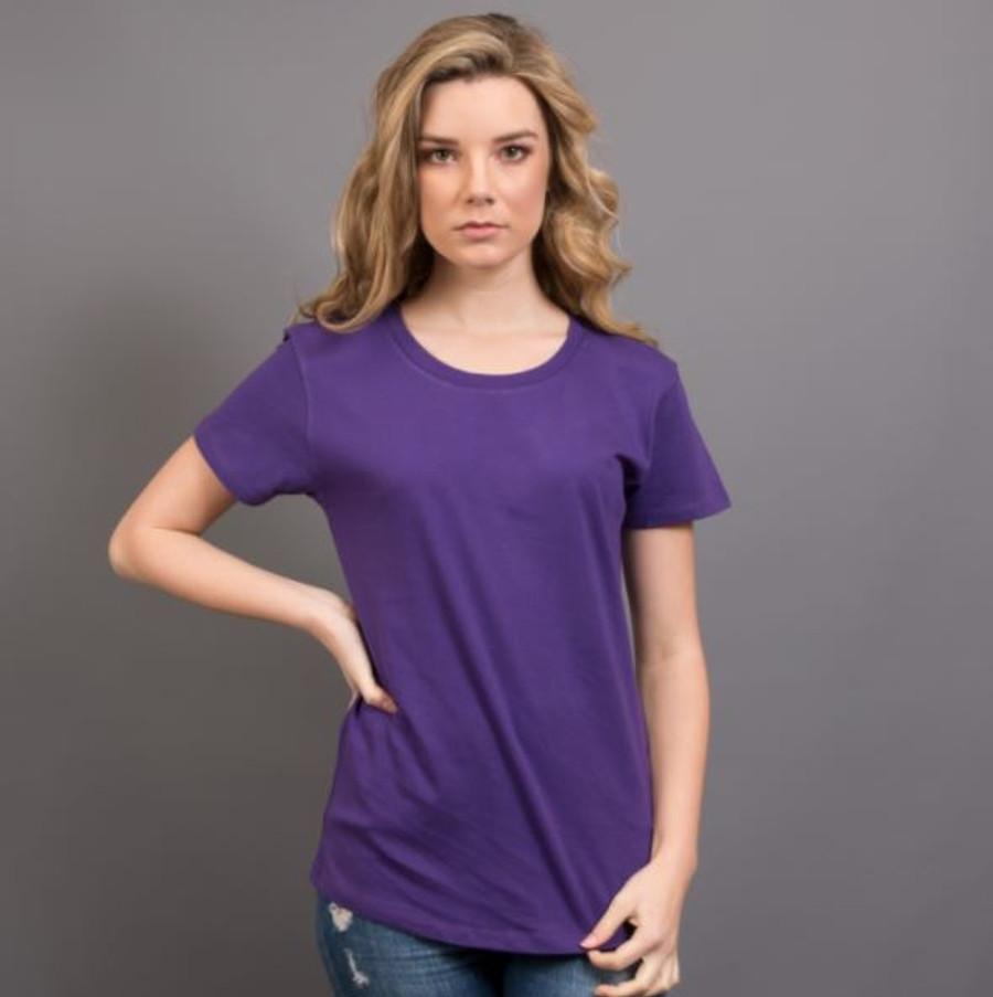 Ladies Surf T-Shirt  (Purple)