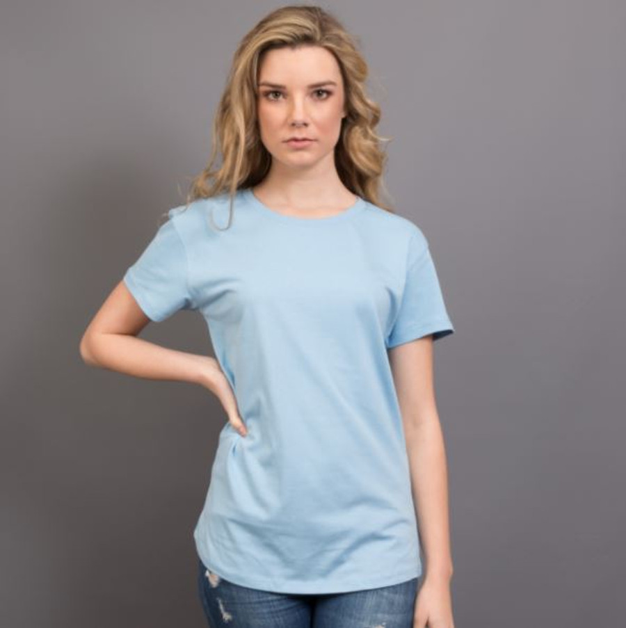 Ladies Surf T-Shirt  (Sky Blue)