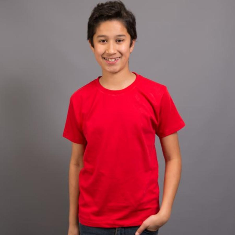 Kids Surf T-Shirt (Red)