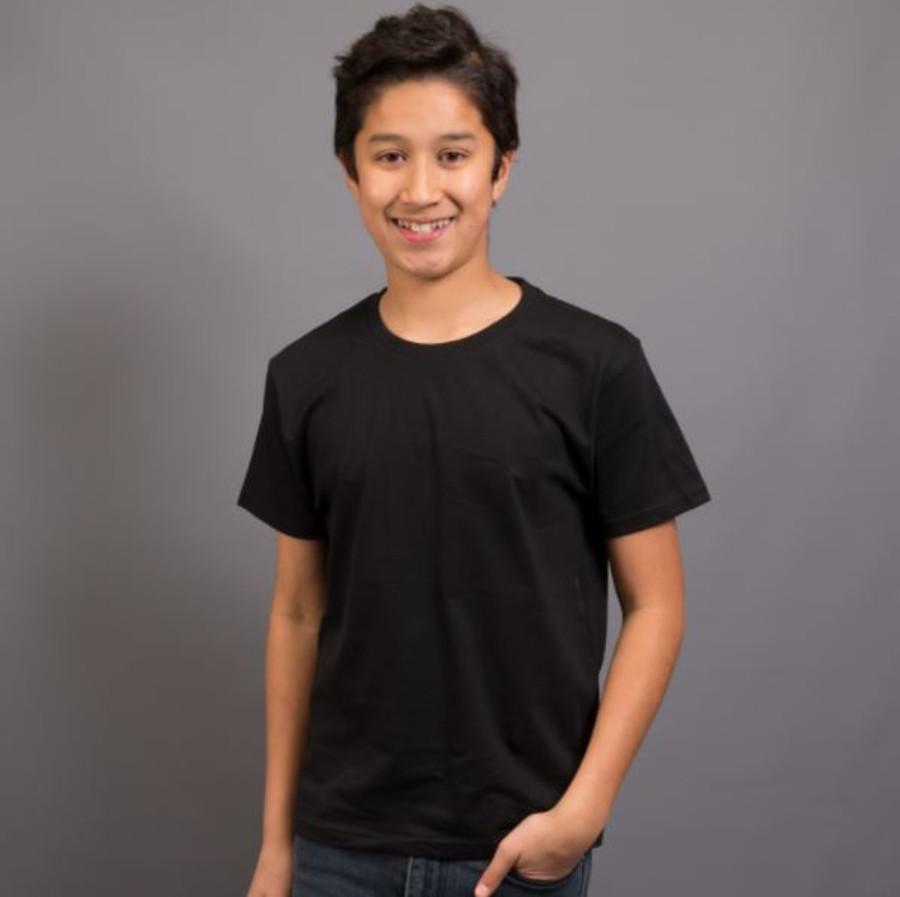 Kids Surf T-Shirt (Black)