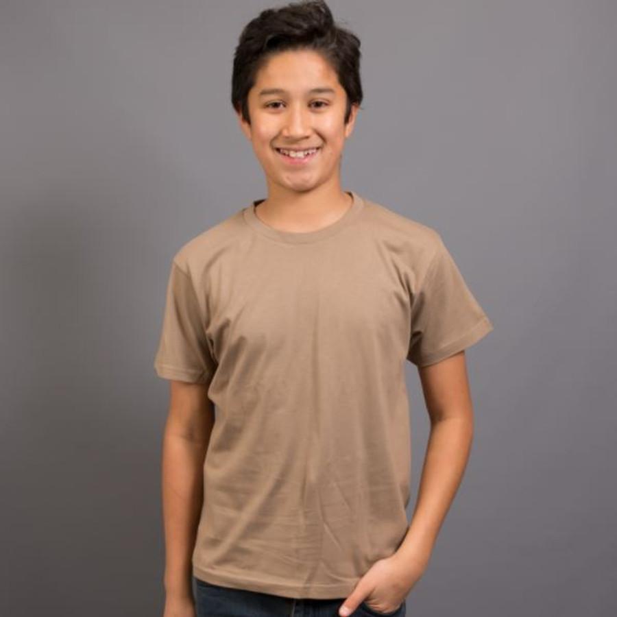 Kids Surf T-Shirt (Mocha)