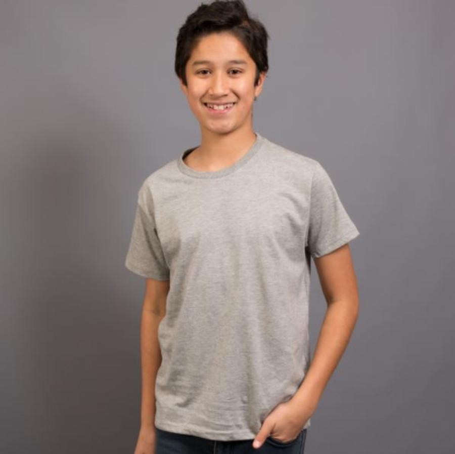 Kids Surf T-Shirt (Grey Marle)