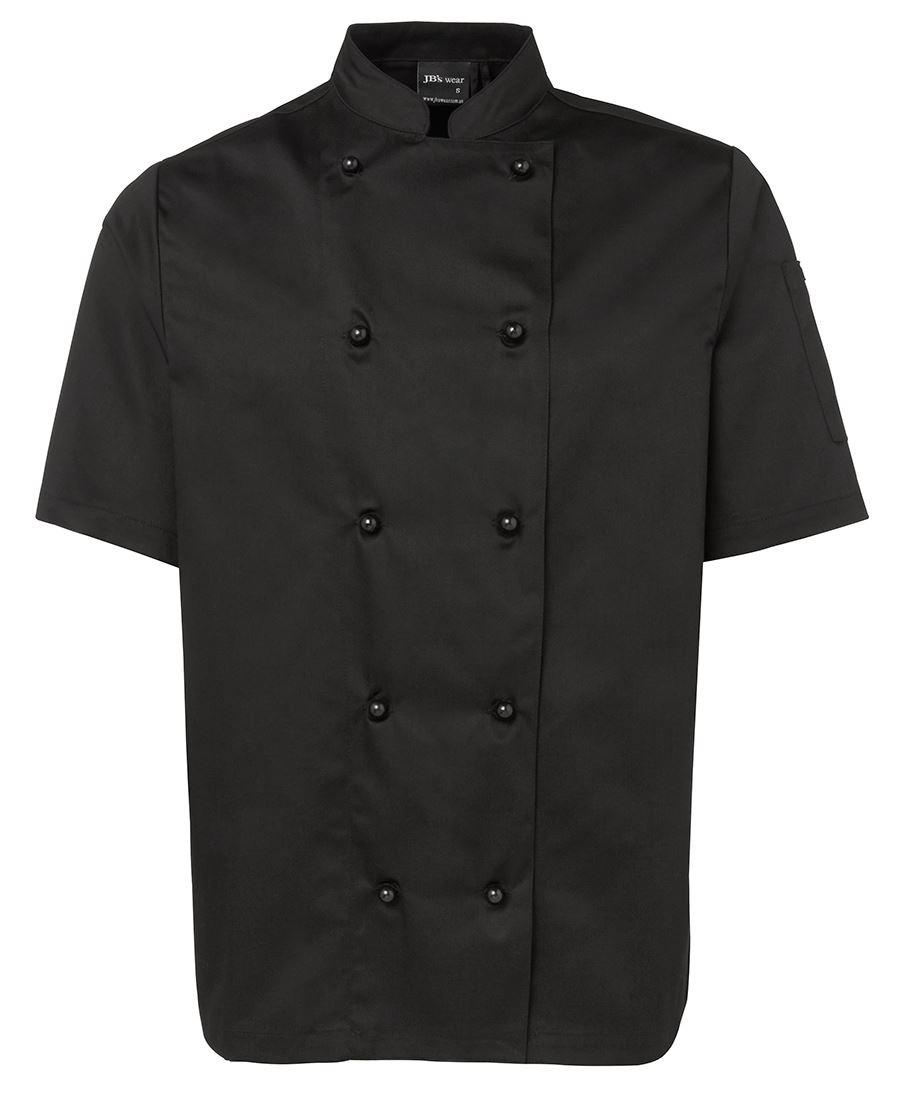 Chefs S/S Jacket (Black)
