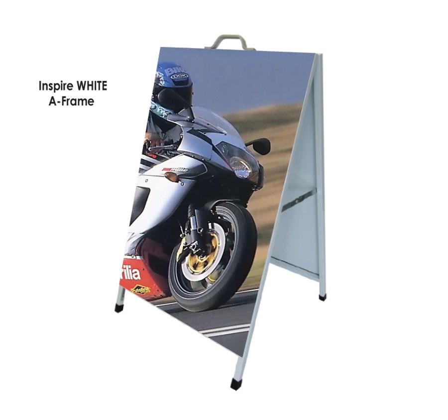 White A Frame