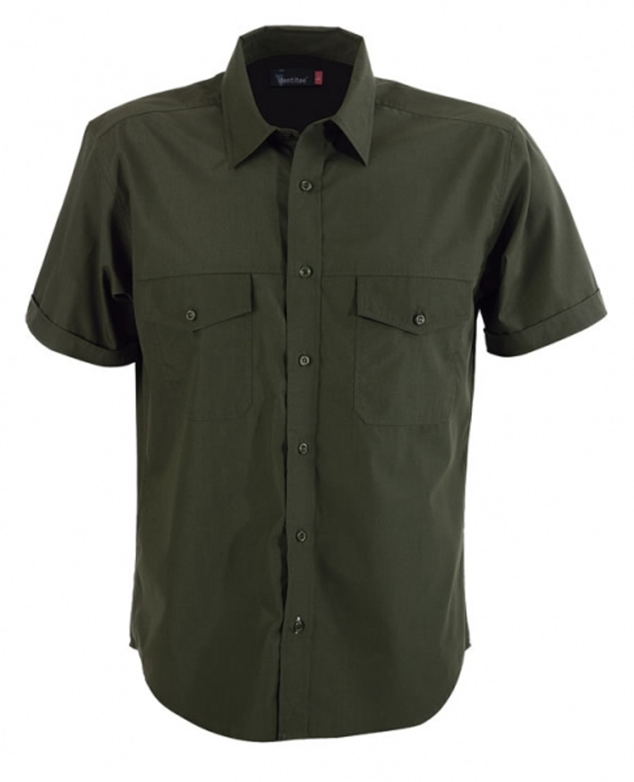 Mens Harley Business Shirt (Military)