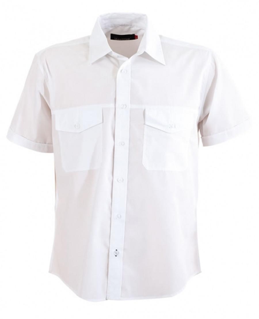 Mens Harley Business Shirt (White)