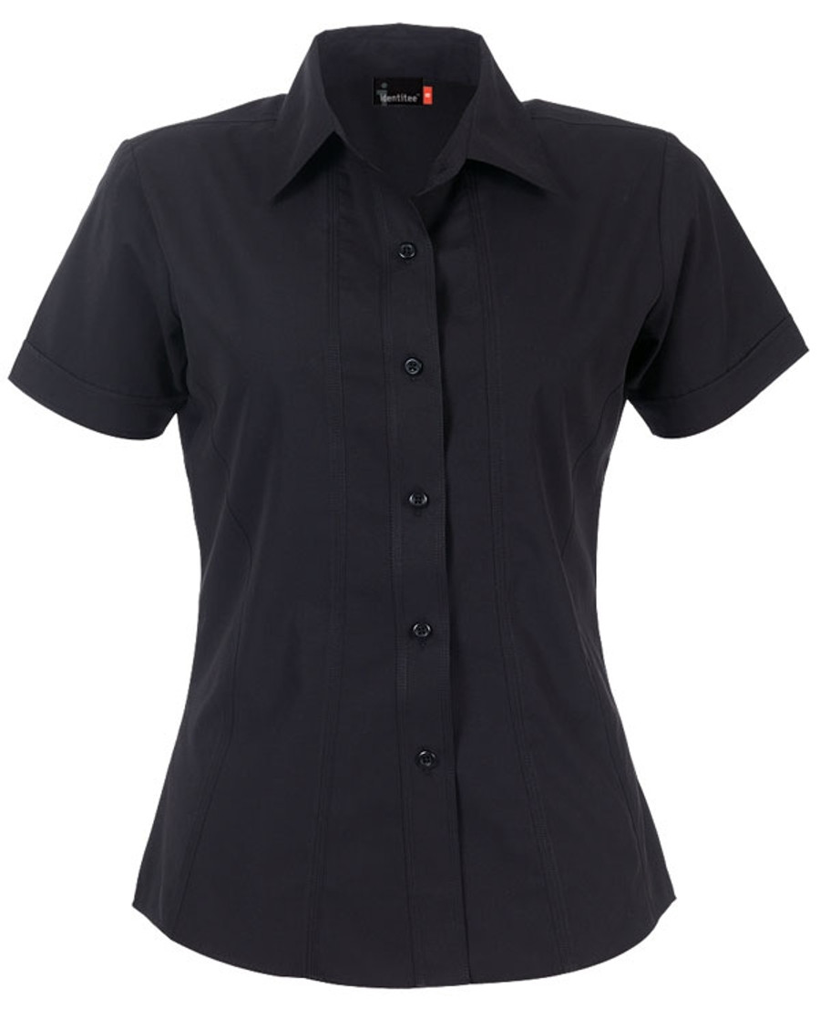 Ladies Aston Business Shirt (Black)