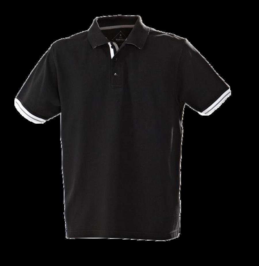 Mens Anderson Polo Shirt (Black)