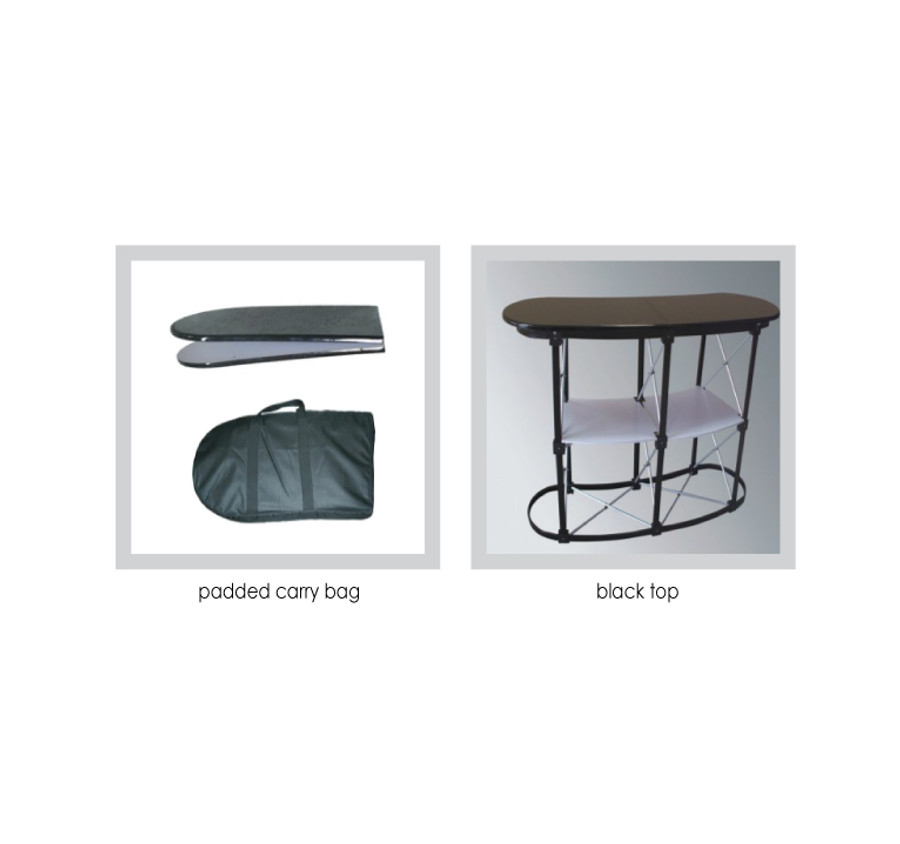 Convex Portable Table Stand Features