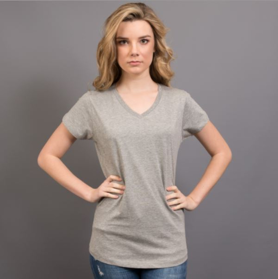 Ladies Nauticus T-Shirt  (Grey Marle)