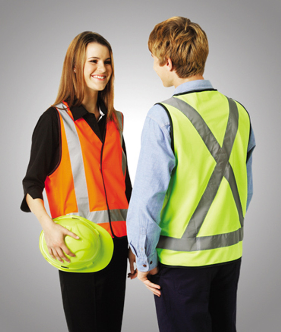 Safety Vest with H Pattern
