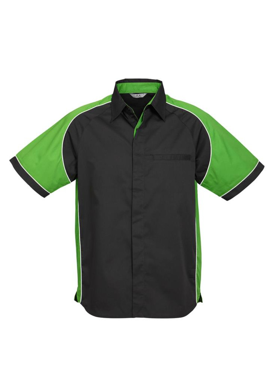Mens Nitro S/S - Black/Green