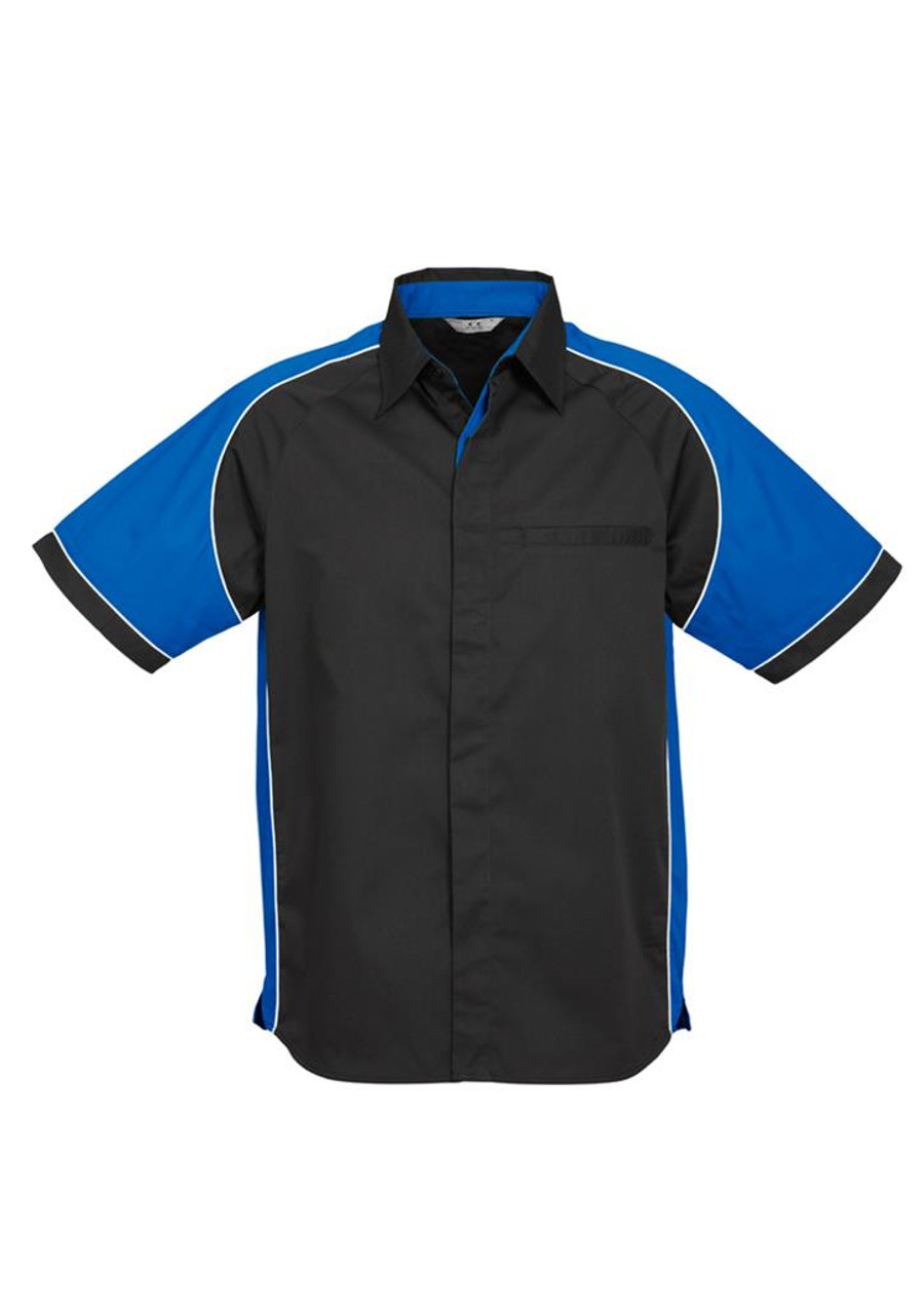 Mens Nitro S/S - Black/Royal Blue