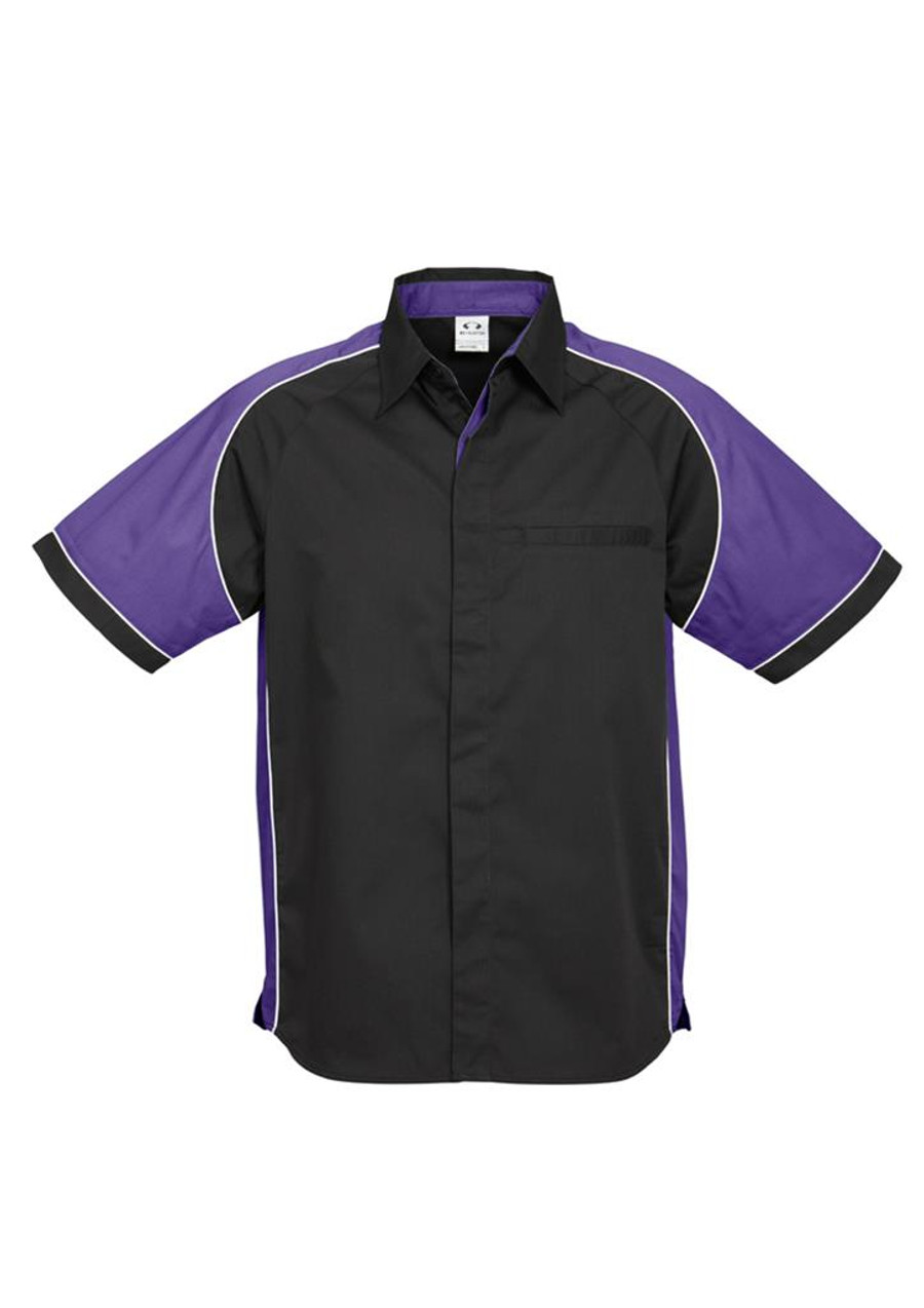 Mens Nitro S/S - Black/Purple