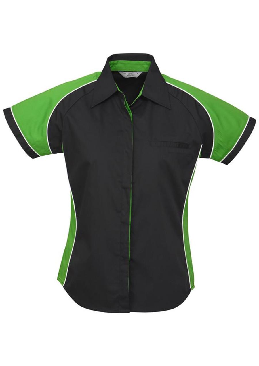 Ladies Nitro S/S - Black/Green