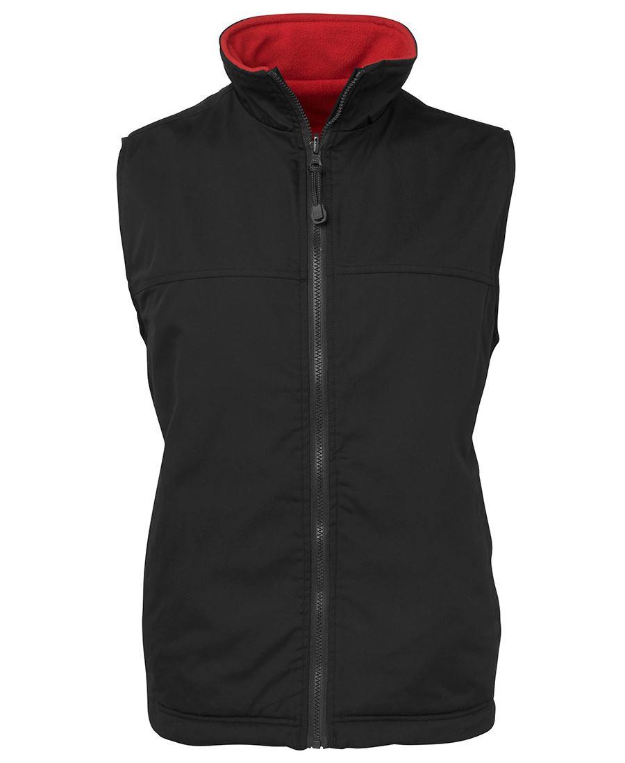 Reversible Vest (Black/Red)