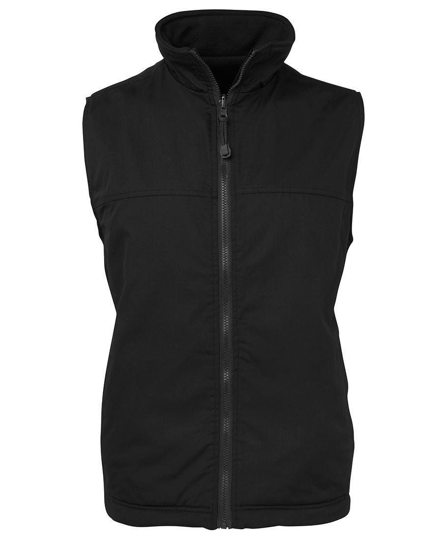 Reversible Vest (Black/Black)