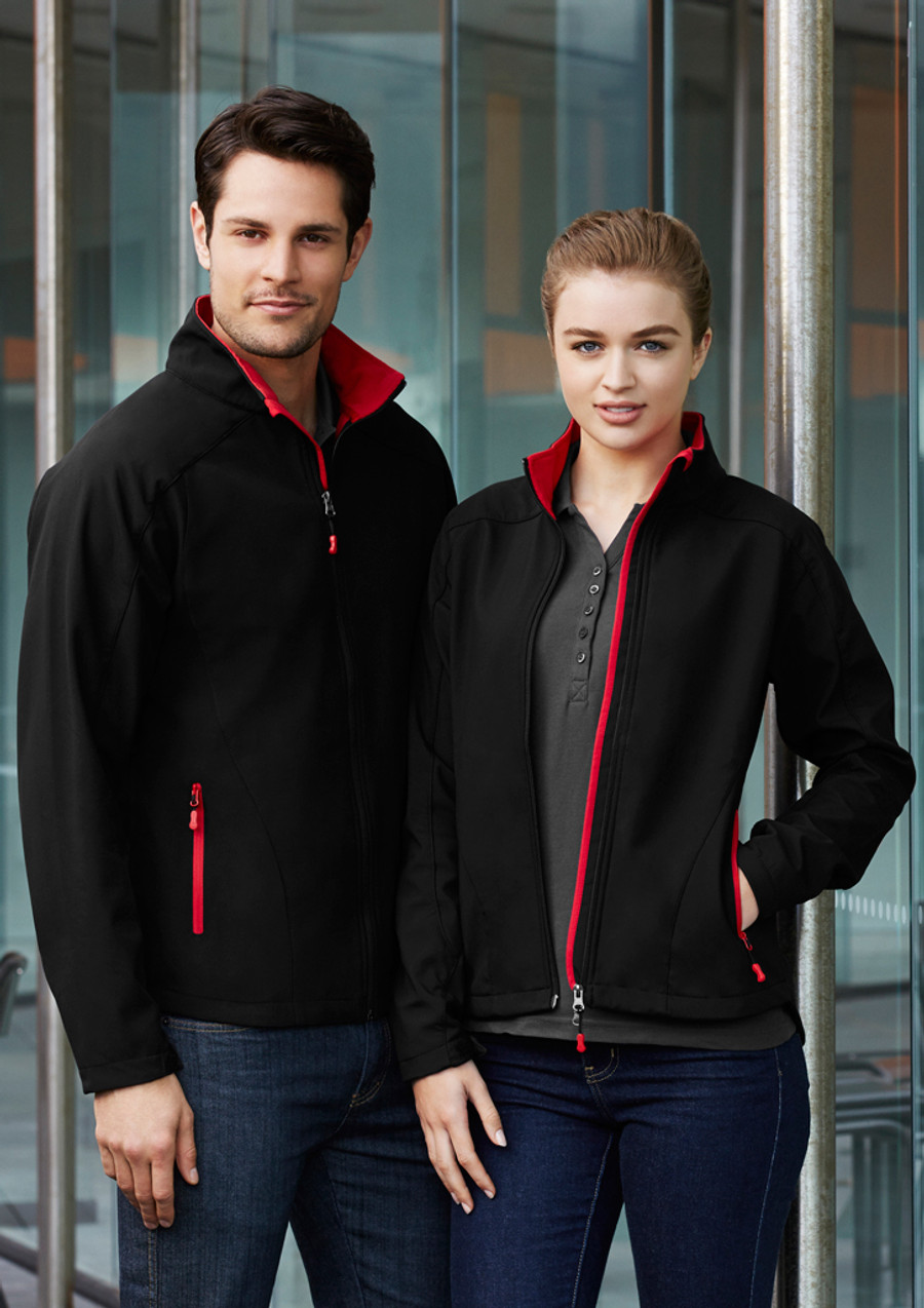 Geneva Jacket (Black/Red)