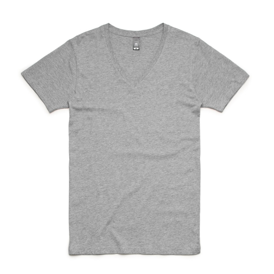 Tarmac V-Neck T-Shirt (Grey Marle)