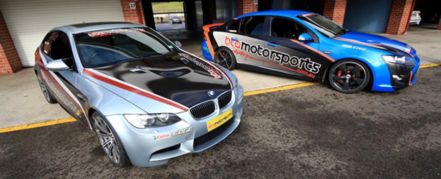 BTA Motorsports Vehicles