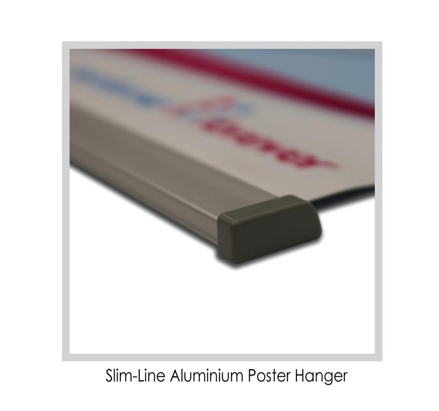Slim-Line Aluminium Poster Hanger