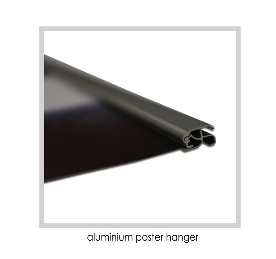 Aluminium Poster Hanger